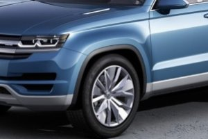 Prototypy | Nowy du�y SUV Volkswagena przy�apany