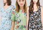 Ubrania i dodatki w kwiaty - 30 modnych propozycji