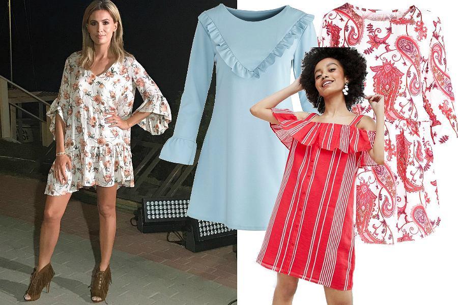 Kolorowe sukienki oversize