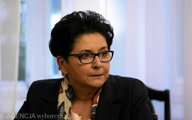 Wróbel: W Legionowie zamieszki; gdzie szefowa MSW? Kidawa-Błońska: Nie lubi występować w mediach