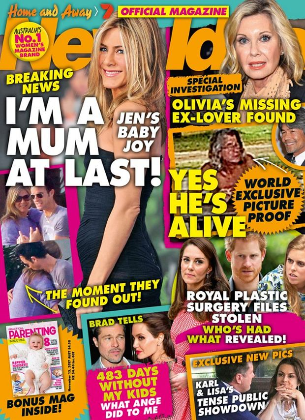 Jennifer Aniston w 'New Idea'
