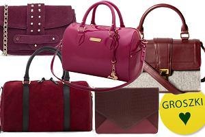ce99b15c84502 Bordowe torebki - ponad 30 propozycji