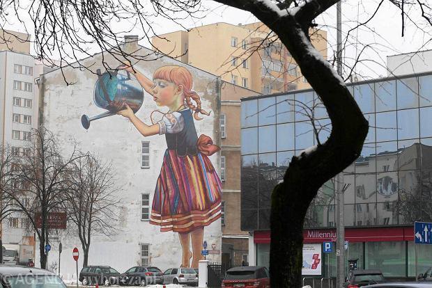 Plan do zmiany 39 dziewczynka z konewk 39 do ochrony for Mural na tamie w solinie