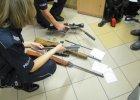 Zatrzymany 36-latek z Koszęcina. Miał nielegalną broń i amunicję
