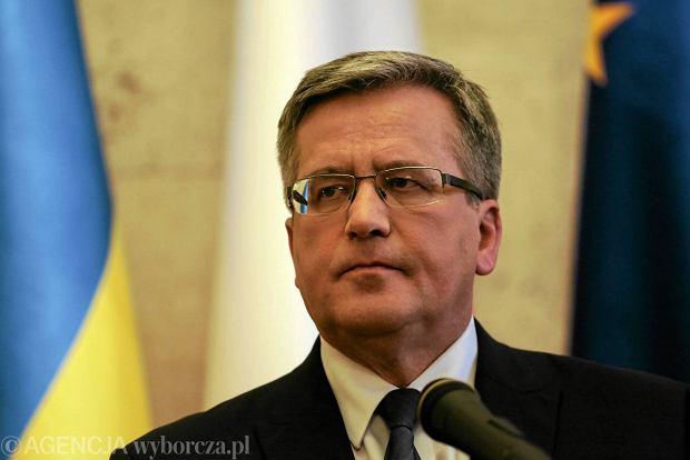 Prezydent ratyfikowa� umow� stowarzyszeniow� UE - Ukraina