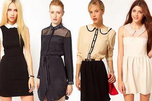 Eleganckie sukienki z ko�nierzykami na �wi�ta