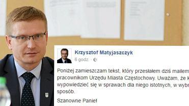 Prezydent Cz�stochowy wys�a� do swoich urz�dnik�w mejla-instrukcj� ws. strajku kobiet