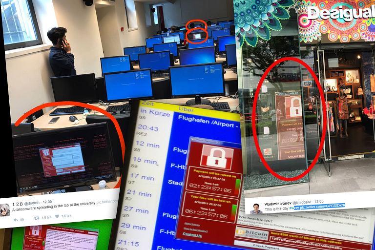 WannaCry zainfekował dziesiątki tysięcy komputeró
