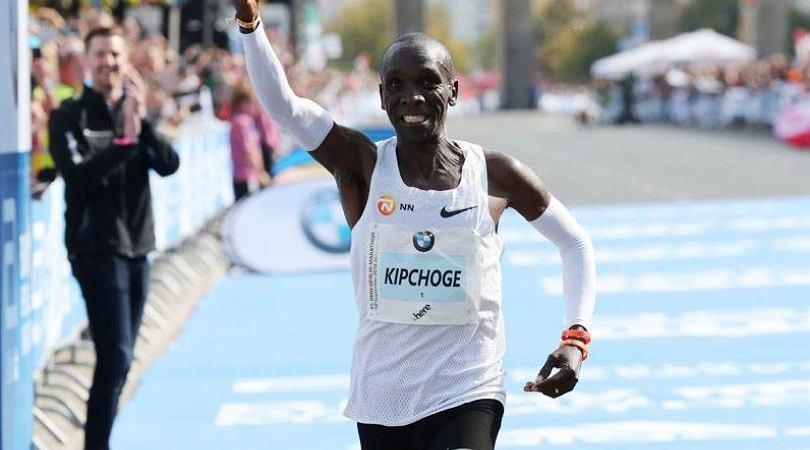 Eliud Kipchoge pobił rekord świata w maratonie
