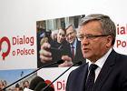 """Wybory prezydenckie 2015. Prezydent Komorowski zapowiedzia�, �e """"bardzo szybko"""" podpisze konwencj� antyprzemocow�"""