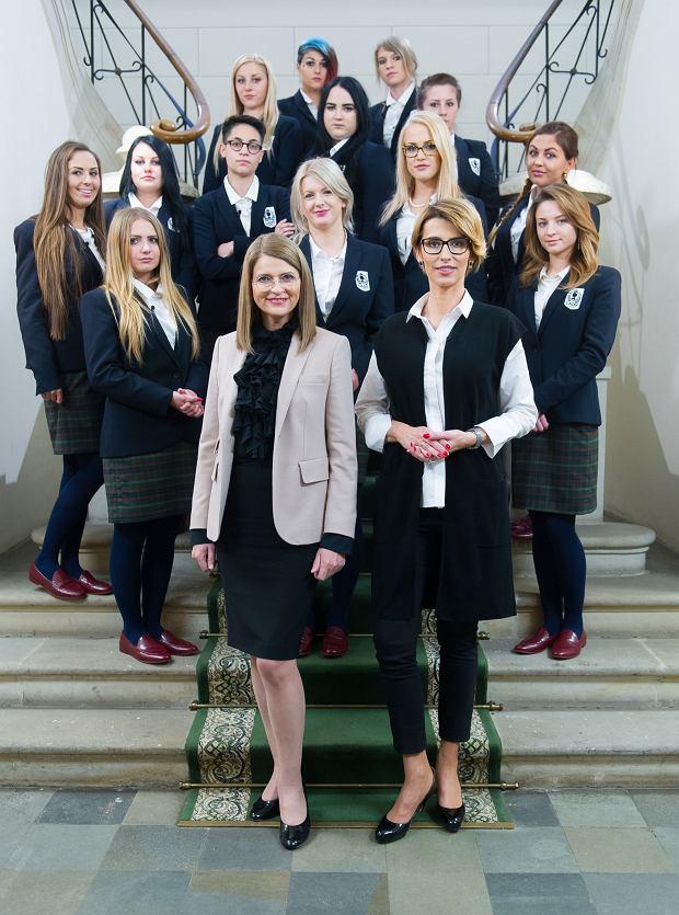 Uczestniczki programu razem z mentorkami: Tatianą Mindewicz-Puacz oraz Ireną Kamińską-Radomską.