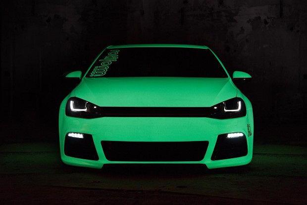Napromieniowany Volkswagen Golf