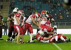 Futbol amerykański. Polska - Rosja 7:0