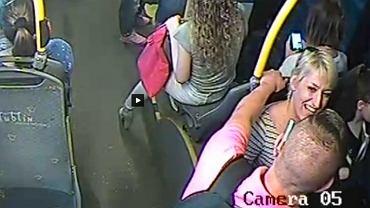 Kradzież w autobusie