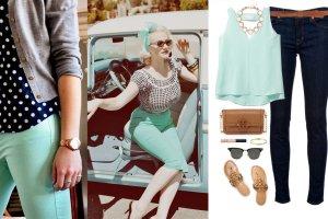 Poczuj miętę - z czym nosić pastelowe odcienie zieleni