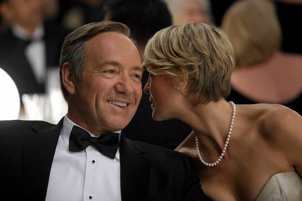 Kevin Spacey i Robin Wright w