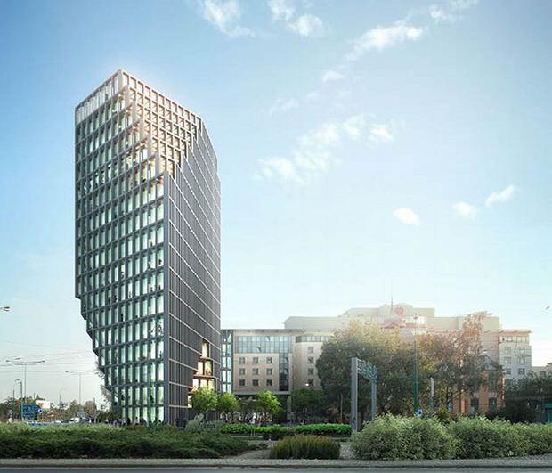 Tak ma wyglądać biurowiec Bałtyk przy Kaponierze (Materiały inwestora)