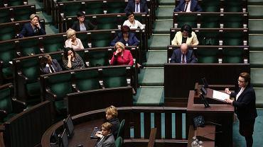 32 Posiedzenie Sejmu - przemawia Anna Zalewska