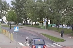 12-letni chłopiec potrącony w Elblągu. Film ku przestrodze kierowców