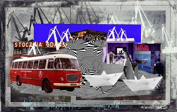 Historia Stoczni w obrazach na Soundrive Festivalu. Zobacz instalację Roberta Sochackiego