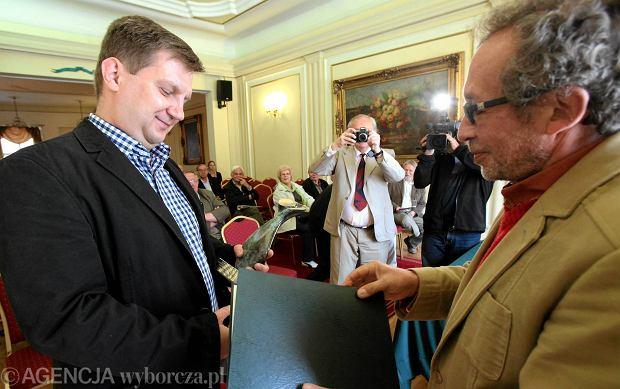 """Dziennikarz """"Gazety"""" Jacek Har�ukowicz nagrodzony"""