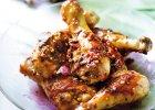 Podudzia kurczaka w marynacie arbuzowej