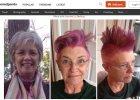Matka poprosi�a c�rk�, �eby zrobi�a co� zabawnego z jej w�osami, zanim podda si� chemioterapii