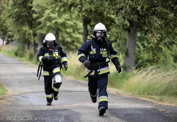 Strażak z Blachowni okazał się seryjnym podpalaczem. OSP wydało oświadczenie