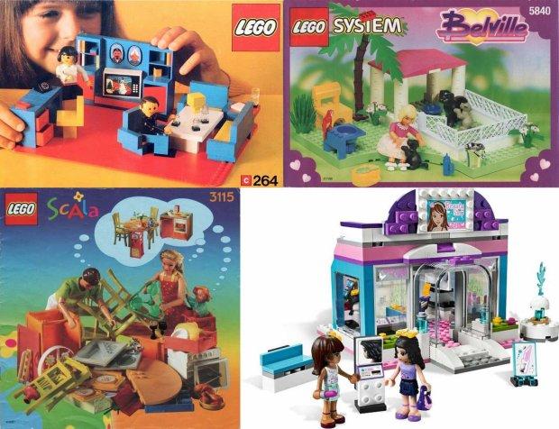 Tak Klocki Lego Zmieniały Się Na Przestrzeni Lat Zaczęło Się Od