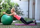 Ćwiczenia wzmacniające na piłce