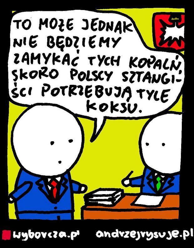 Andrzej Rysuje | Sztangi�ci i koks - Andrzej Rysuje, 11.08.2016 -