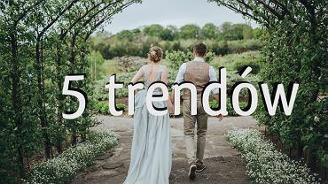 Trendy ślubne, które przyszły do nas z Zachodu