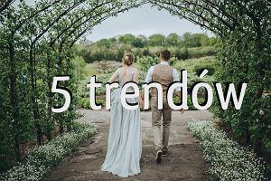5 trendów ślubnych, które podbijają polskie śluby