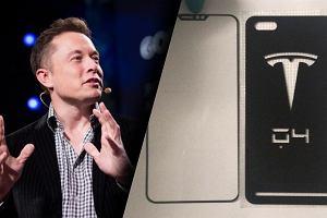 Tesla może pracować nad własnym smartfonem. Są pierwsze zdjęcia