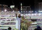 Miliony pielgrzymów ochroni sto tysięcy policjantów. Muzułmanie ruszyli w obowiązkową podróż do Mekki