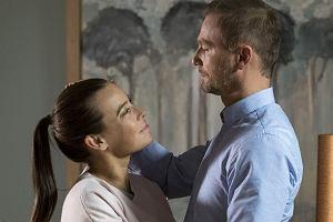 Anna Mucha i Krystian Wieczorek na planie serialu 'M jak Miłość'