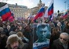 Marsz upami�tniaj�cy Borysa Niemcowa w Moskwie