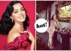 """Katy Perry w odcieniach czerwieni i r�u w nowym """"Harper's Bazaar"""". Pozuje niczym Ava Gardner [ZDJ�CIA]"""
