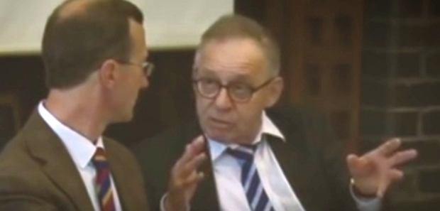 Lech Morawski w Oksfordzie podczas dyskusji o sytuacji wokół Trybunału Konstytucyjnego w Polsce