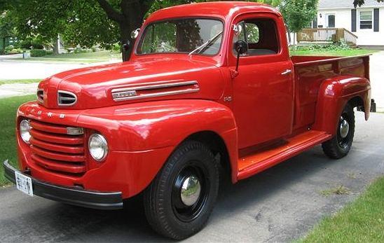 Pierwsza generacja Forda Serii F z 1950 roku