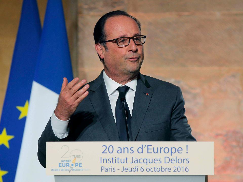 Prezydent Hollande odwołuje wizytę w Polsce