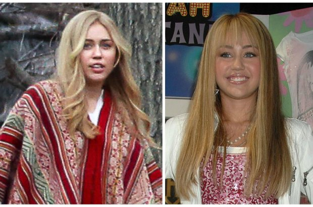 """Miley Cyrus otrzymała angaż do najnowszej produkcji Woody'ego Allena. Są już pierwsze zdjęcia z planu - amerykańska gwiazda łudząco przypomina siebie z czasów serialu """"Hannah Montana"""", który przyniósł jej międzynarodową sławę."""