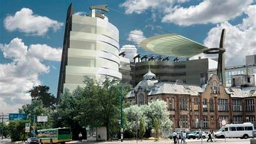 W zwycięskim projekcie Toya Design przewidziano dach nad placem przy Concordii