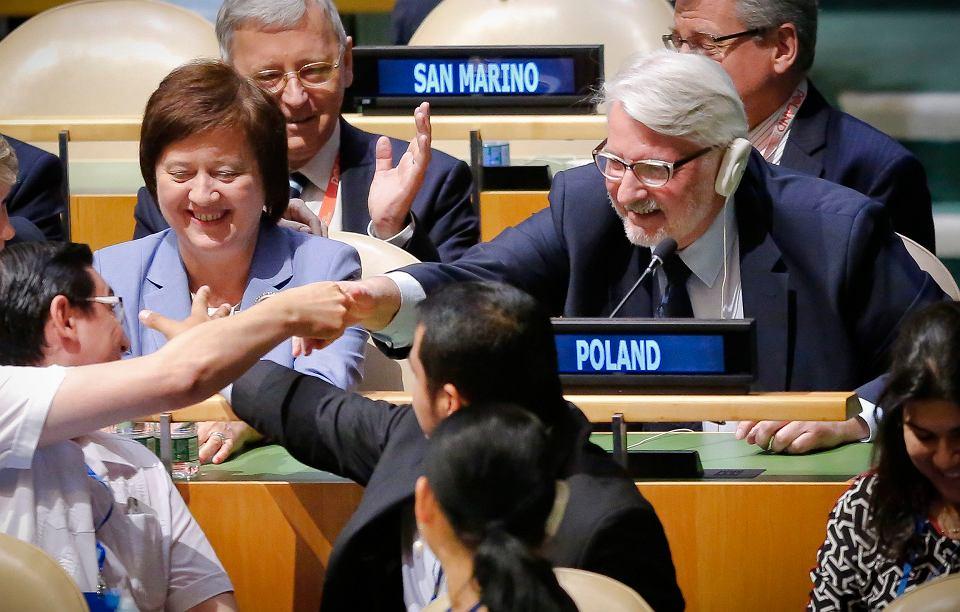 Polska została niestałym członkiem Rady Bezpieczeństwa ONZ na lata 2018-19 - zdecydowało dziś Zgromadzenie Ogólne ONZ. Za Polską głosowało 190 ze 192 krajów, dwa wstrzymały się od głosu. Starania o to stanowisko trwały od 2009 roku