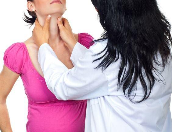 Kontrola TSH, usg i badanie palpacyjne tarczycy pozwalają w pełni wykluczyć ewentualne nieprawidłowości gruczołu w ciąży