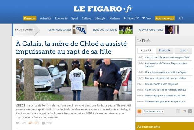 Francja: Polak przyzna� si� do gwa�tu i morderstwa 9-letniej dziewczynki. Porwa� j� na oczach matki. Zw�oki znaleziono w lesie