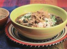 Meksykańska zupa z czarnej fasoli - ugotuj