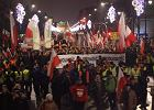 Opr�cz pisowskich rytua��w marsz PiS by� pochwa�� wolnej Polski