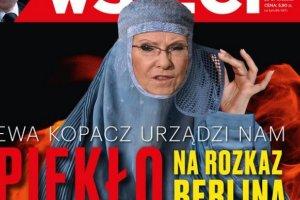 """Premier Kopacz pozwa�a tygodnik """"wSieci"""" za ok�adk�. Domaga si� przeprosin i wp�aty 30 tys. z� na PAH"""