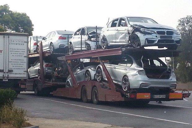Flota nowych BMW M3 na szrot | Powodem film